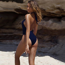 Load image into Gallery viewer, Monokini High Cut. You can't go wrong with any of these. - Fashionsarah