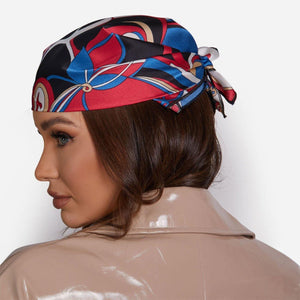 Bandana Scarf In Blue - Fashionsarah.com