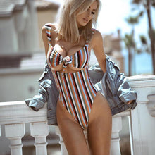 Load image into Gallery viewer, Sexy Bride One Piece Swimwear. We know, it's hard to resist. - Fashionsarah