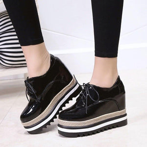 Leather Oxford Platform! - Fashionsarah