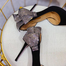 Load image into Gallery viewer, Luxury Crystal Butterfly Heels! - Fashionsarah