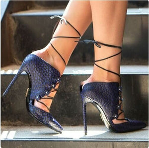 Sexy Leopard Ankle Strap Heels! - Fashionsarah