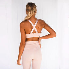 Load image into Gallery viewer, Ruched Matching Fitness Outfit! - Fashionsarah