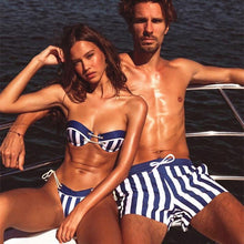 Load image into Gallery viewer, We love the new Couple Beachwear Matching! - Fashionsarah