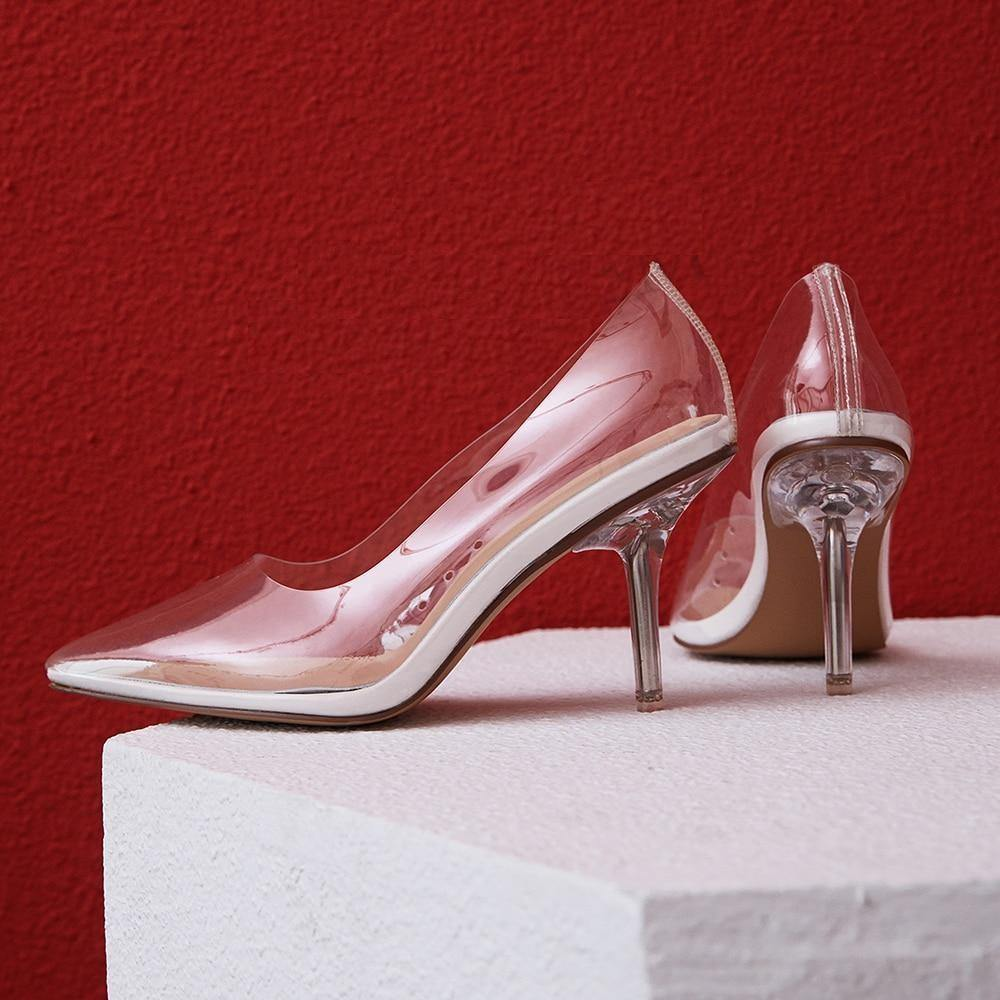 Cinderella Glass Heels.Love it! - Fashionsarah.com