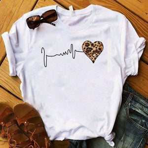Leopard Love Cute Shirt. - Fashionsarah