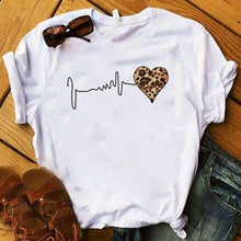 Load image into Gallery viewer, Leopard Love Cute Shirt. - Fashionsarah