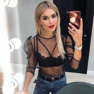 Sexy See Through T-Shirt. What's not to love? - Fashionsarah