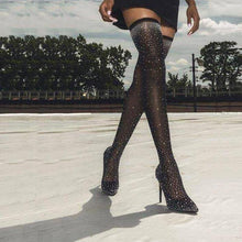 Load image into Gallery viewer, Crystal Boots for Fashion Runway! - Fashionsarah