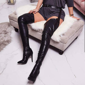 Over-the-Knee Boots, Rihanna Style! - Fashionsarah
