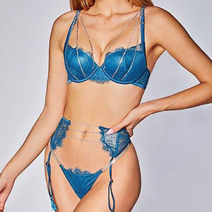 Crystal Chain Sexy Sets - Fashionsarah