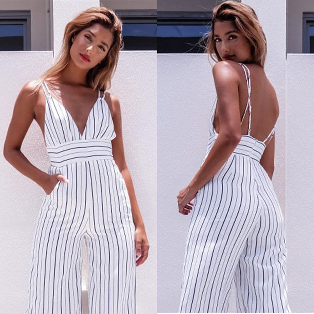 Summer Ladies Jumpsuit - Fashionsarah