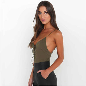 Sexy Lace Up Bodysuits! - Fashionsarah