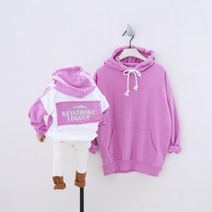 Family Matching Hoodies Sweatshirts - Fashionsarah