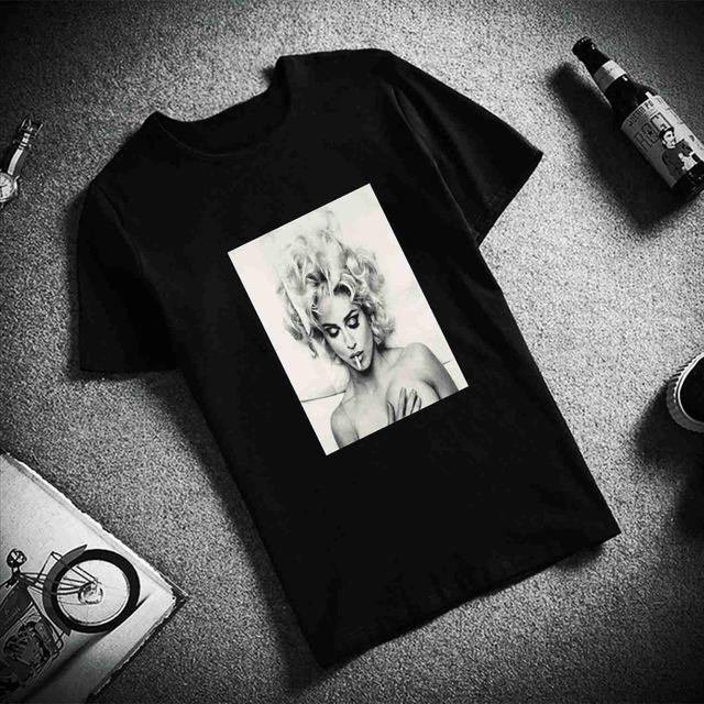 Unisex Fashion Madonna T-shirt - Fashionsarah