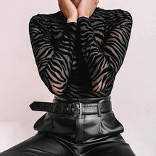 Load image into Gallery viewer, Black Zebra bodysuit! - Fashionsarah