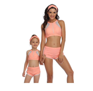 family swimwear matching