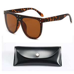 Unique Mirror Square Sunglasses - Fashionsarah.com