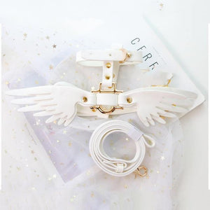 Collar with Angel Wings