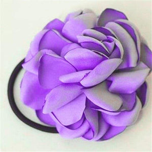 Flower Scrunchie Hairbands