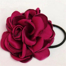Load image into Gallery viewer, Flower Scrunchie Hairbands