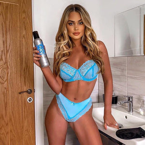 Blue Lingerie Set - Fashionsarah.com