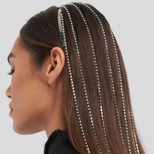 Rhinestone Long Head Chain