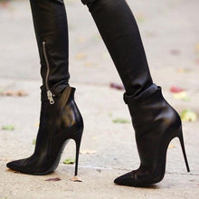 Load image into Gallery viewer, Ankle Stiletto Boots