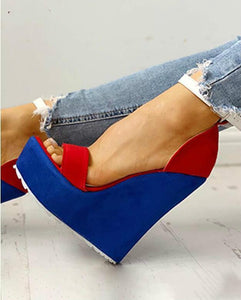 Blue Red Platforms