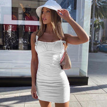 Load image into Gallery viewer, Summer Casual Dress - Fashionsarah.com