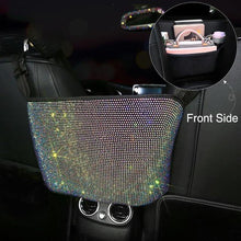 Load image into Gallery viewer, Rhinestone Storage Bag Organizer, Barrier of Backseat