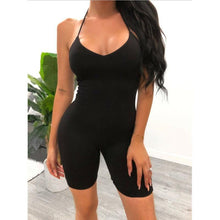 Load image into Gallery viewer, Slim Fit Short Jumpsuits - Fashionsarah.com