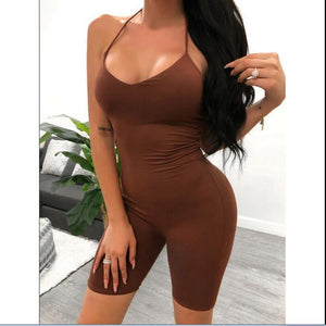 Slim Fit Short Jumpsuits