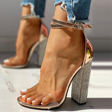 Load image into Gallery viewer, Transparent Diamond Heels