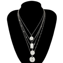 Load image into Gallery viewer, Punk Multi Layered Necklace