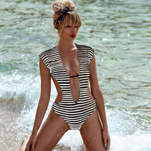 Load image into Gallery viewer, Boho Cut Out Monokini