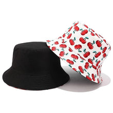 Load image into Gallery viewer, New Fruit Cherry Bucket Hats - Fashionsarah.com