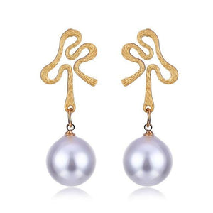 Elegant Pearl Earrings - Fashionsarah.com