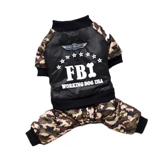 FBI Pet Outfit - Fashionsarah.com