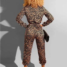 Load image into Gallery viewer, Loose Leopard Jumpsuit