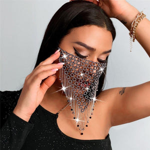 Bohemia Bling Face Mask - Fashionsarah.com