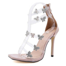 Load image into Gallery viewer, Butterfly Summer Heels