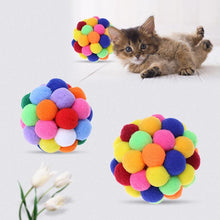 Load image into Gallery viewer, Bouncy Ball Cat Toy