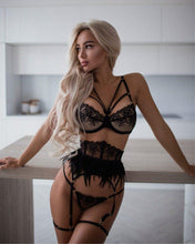 Load image into Gallery viewer, Embroidery Lingerie Set - Fashionsarah.com