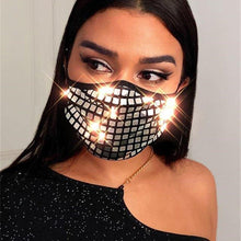 Load image into Gallery viewer, Sequin Decoration Face Mask - Fashionsarah.com