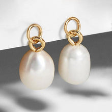 Load image into Gallery viewer, Elegant Pearl Earrings - Fashionsarah.com