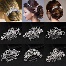 Load image into Gallery viewer, Bridal Hair Combs - Fashionsarah.com