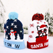 Load image into Gallery viewer, Xmas Hats With LED Flash