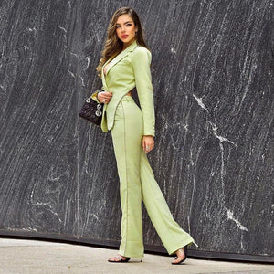 Elegant Backless Suit