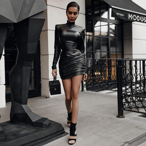 Total Leather Outfit - Fashionsarah.com
